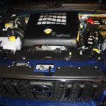 New Mahindra Scorpio 2.2-liter mHawk engine at the launch
