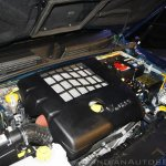 New Mahindra Scorpio 2.2-liter mHawk engine zoom-in at the launch