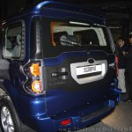 New Mahindra Scorpio S10 rear door at the launch