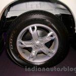 New Mahindra Scorpio alloy wheel Delhi launch
