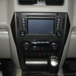 New Mahindra Scorpio center console at the launch