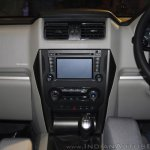New Mahindra Scorpio center console zoom out at the launch