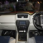 New Mahindra Scorpio dashboard at the launch