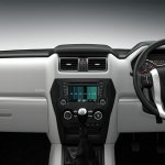 New Mahindra Scorpio dashboard