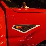 New Mahindra Scorpio fender bezel at the launch