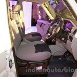 New Mahindra Scorpio front seat Delhi launch