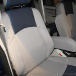 New Mahindra Scorpio front seat at the launch