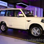 New Mahindra Scorpio front three quarter Delhi launch