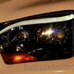 New Mahindra Scorpio headlamp Delhi launch