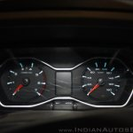 New Mahindra Scorpio instrument console at the launch