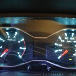 New Mahindra Scorpio instrument console glow pattern at the launch