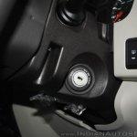 New Mahindra Scorpio keyhole at the launch