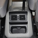 New Mahindra Scorpio rear aircon vents at the launch