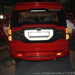 New Mahindra Scorpio rear at the launch