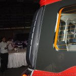 New Mahindra Scorpio rear grab rail left at the launch