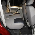New Mahindra Scorpio rear seat at the launch