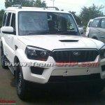 New Mahindra Scorpio revealed front