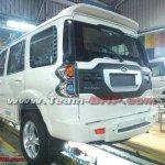 New Mahindra Scorpio revealed rear
