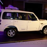 New Mahindra Scorpio side angle Delhi launch
