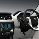 New Mahindra Scorpio steering wheel