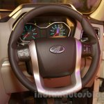 New Mahindra Scorpio steering whel Delhi launch
