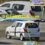 New Maruti Alto K10 facelift revealed AMT