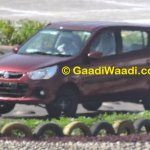 New Maruti Alto K10 facelift revealed front quarter