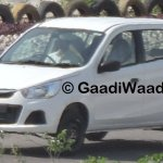 New Maruti Alto K10 facelift revealed headlight