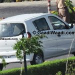 New Maruti Alto K10 facelift revealed rear quarter