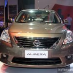 Nissan Almera (Sunny) front at the Philippines International Motor Show 2014