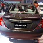 Nissan Almera (Sunny) rear at the Philippines International Motor Show 2014