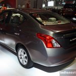 Nissan Almera (Sunny) rear left three quarter at the Philippines International Motor Show 2014