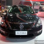 Nissan Altima front at the Philippines International Motor Show 2014
