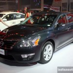 Nissan Altima front three quarter at the Philippines International Motor Show 2014