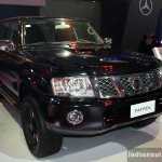 Nissan Patrol Super Safari front three quarter at the Philippines International Motor Show 2014