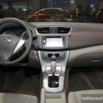 Nissan Sylphy interior at the Philippines International Motor Show 2014