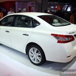 Nissan Sylphy rear three quarter at the Philippines International Motor Show 2014