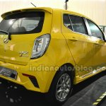 Perodua Axia Advance SE rear three quarters