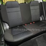 Perodua Axia back seat at the Malaysian launch