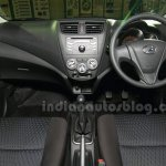 Perodua Axia dashboard at the Malaysian launch