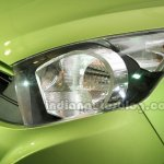 Perodua Axia headlamp at the Malaysian launch