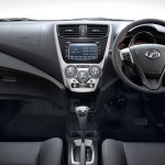 Perodua Axia press shot Advance interior