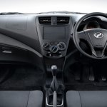 Perodua Axia press shot E interior