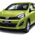 Perodua Axia press shot front three quarter