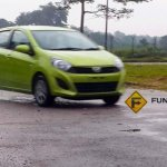 Perodua Axia spied in Malaysia G variant front three quarter