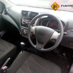 Perodua Axia spied in Malaysia G variant interior