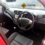 Perodua Axia spied in Malaysia touchscreen infotainment system