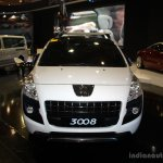 Peugeot 3008 front at the Philippines Motor Show 2014