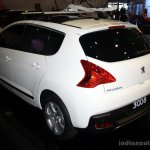 Peugeot 3008 rear three quarter at the Philippines Motor Show 2014