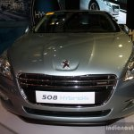 Peugeot 508 Hyrbid4 front at the Philippines Motor Show 2014